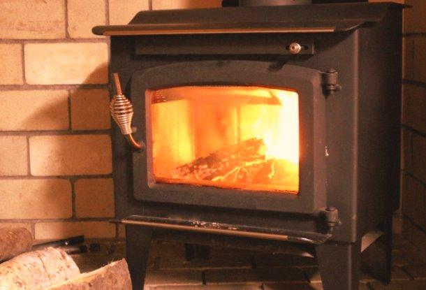 暖炉のある暮らし
